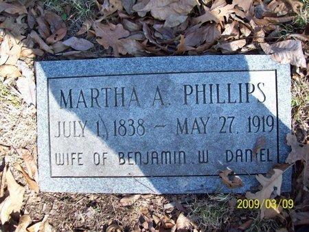 DANIEL, MARTHA A. - Stewart County, Tennessee | MARTHA A. DANIEL - Tennessee Gravestone Photos