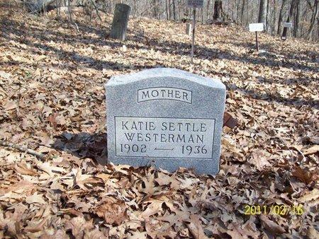 SETTLE WESTERMAN, KATIE - Stewart County, Tennessee | KATIE SETTLE WESTERMAN - Tennessee Gravestone Photos