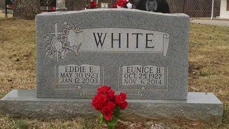 WHITE, EUNICE B. - Stewart County, Tennessee | EUNICE B. WHITE - Tennessee Gravestone Photos