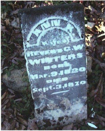 RUSHING WINTERS, ANN K. - Stewart County, Tennessee | ANN K. RUSHING WINTERS - Tennessee Gravestone Photos