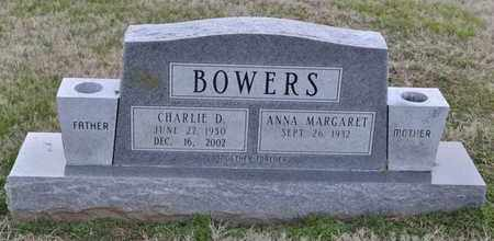 BOWERS, CHARLIE D - Sullivan County, Tennessee | CHARLIE D BOWERS - Tennessee Gravestone Photos