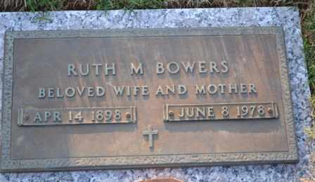 BOWERS, RUTH M - Sullivan County, Tennessee | RUTH M BOWERS - Tennessee Gravestone Photos