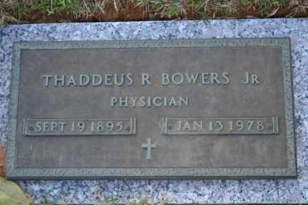 BOWERS, THADDEUS R, JR - Sullivan County, Tennessee | THADDEUS R, JR BOWERS - Tennessee Gravestone Photos