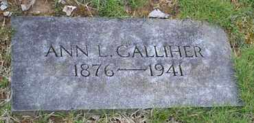 GALLIHER, ANN L - Sullivan County, Tennessee | ANN L GALLIHER - Tennessee Gravestone Photos