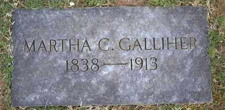GALLIHER, MARTHA C - Sullivan County, Tennessee | MARTHA C GALLIHER - Tennessee Gravestone Photos