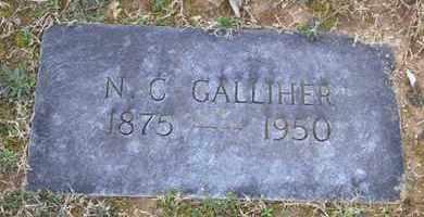 GALLIHER, N.C. - Sullivan County, Tennessee   N.C. GALLIHER - Tennessee Gravestone Photos