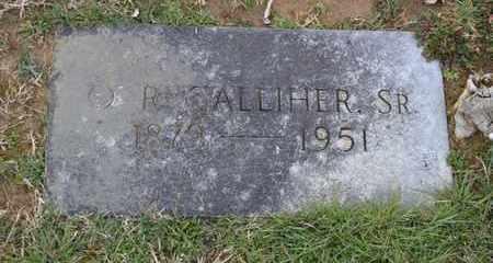 GALLIHER, O.R., SR - Sullivan County, Tennessee | O.R., SR GALLIHER - Tennessee Gravestone Photos