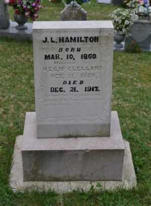 HAMILTON, J.L. - Sullivan County, Tennessee | J.L. HAMILTON - Tennessee Gravestone Photos