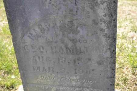 HAMILTON, MARGARET - Sullivan County, Tennessee | MARGARET HAMILTON - Tennessee Gravestone Photos