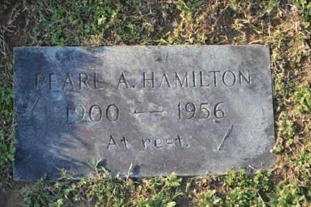 HAMILTON, PEARL A - Sullivan County, Tennessee | PEARL A HAMILTON - Tennessee Gravestone Photos