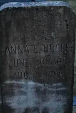 HARR, ANNA E (CLOSE UP) - Sullivan County, Tennessee | ANNA E (CLOSE UP) HARR - Tennessee Gravestone Photos