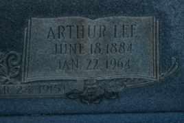 HARR, ARTHUR LEE (CLOSE UP) - Sullivan County, Tennessee   ARTHUR LEE (CLOSE UP) HARR - Tennessee Gravestone Photos