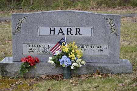 HARR, CLARENCE D - Sullivan County, Tennessee | CLARENCE D HARR - Tennessee Gravestone Photos