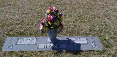HARR, ERNEST KYLE - Sullivan County, Tennessee   ERNEST KYLE HARR - Tennessee Gravestone Photos