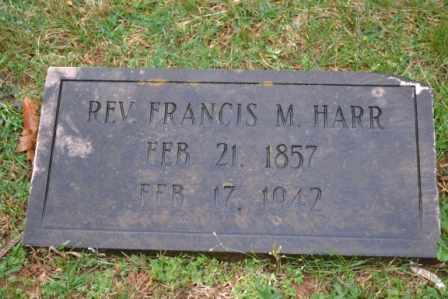 HARR, FRANCIS MARION (REVEREND) - Sullivan County, Tennessee | FRANCIS MARION (REVEREND) HARR - Tennessee Gravestone Photos