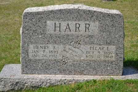 HARR, ELLAR L - Sullivan County, Tennessee | ELLAR L HARR - Tennessee Gravestone Photos