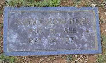 HARR, JOHN CALVIN - Sullivan County, Tennessee | JOHN CALVIN HARR - Tennessee Gravestone Photos
