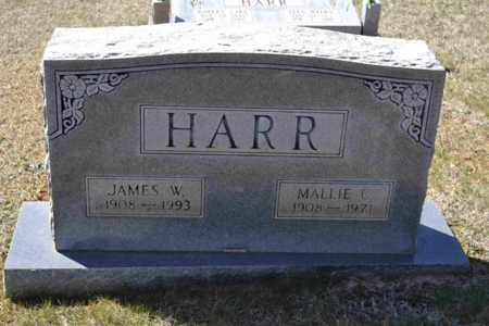 HARR, JAMES W - Sullivan County, Tennessee | JAMES W HARR - Tennessee Gravestone Photos