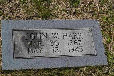 HARR, JOHN W - Sullivan County, Tennessee | JOHN W HARR - Tennessee Gravestone Photos