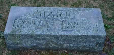 HARR, REBECCA - Sullivan County, Tennessee   REBECCA HARR - Tennessee Gravestone Photos