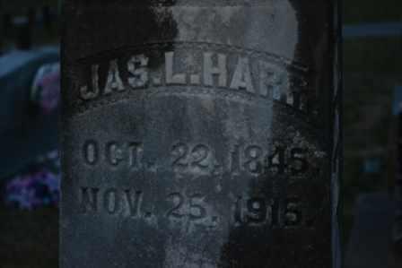 HARR, JAS. L. (CLOSE UP) - Sullivan County, Tennessee   JAS. L. (CLOSE UP) HARR - Tennessee Gravestone Photos