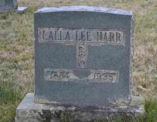 HARR, LALLA LEE - Sullivan County, Tennessee | LALLA LEE HARR - Tennessee Gravestone Photos