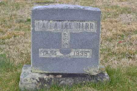 HARR, LALLA LEE - Sullivan County, Tennessee   LALLA LEE HARR - Tennessee Gravestone Photos
