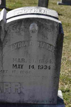 HARR, LYDIA C (CLOSE UP) - Sullivan County, Tennessee | LYDIA C (CLOSE UP) HARR - Tennessee Gravestone Photos