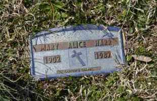 HARR, MARY ALICE - Sullivan County, Tennessee   MARY ALICE HARR - Tennessee Gravestone Photos