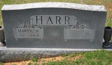 HARR, MARTY K - Sullivan County, Tennessee | MARTY K HARR - Tennessee Gravestone Photos