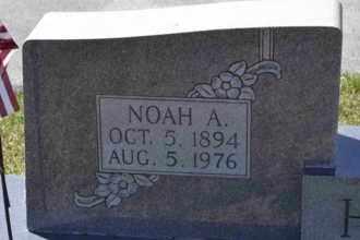 HARR, NOAH A (CLOSE UP) - Sullivan County, Tennessee | NOAH A (CLOSE UP) HARR - Tennessee Gravestone Photos