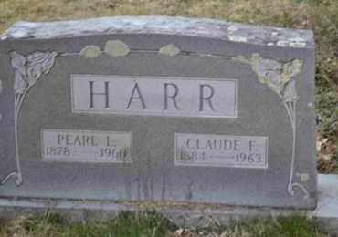 HARR, PEARL L - Sullivan County, Tennessee | PEARL L HARR - Tennessee Gravestone Photos