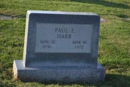 HARR, PAUL E - Sullivan County, Tennessee | PAUL E HARR - Tennessee Gravestone Photos