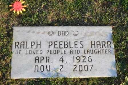 HARR, RALPH PEEBLES - Sullivan County, Tennessee   RALPH PEEBLES HARR - Tennessee Gravestone Photos