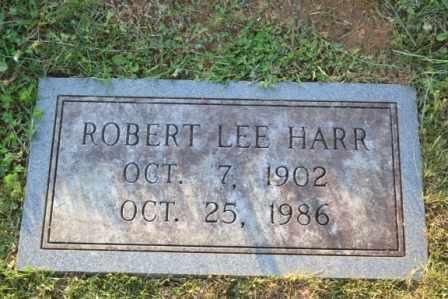 HARR, ROBERT LEE - Sullivan County, Tennessee | ROBERT LEE HARR - Tennessee Gravestone Photos
