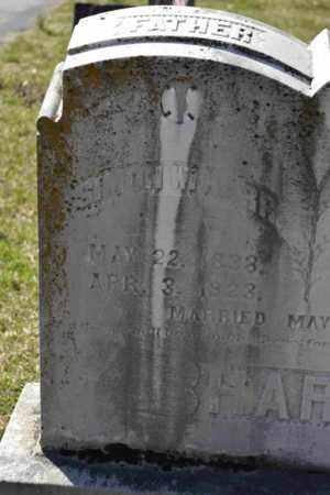 HARR, SIMON W (CLOSE UP) - Sullivan County, Tennessee | SIMON W (CLOSE UP) HARR - Tennessee Gravestone Photos