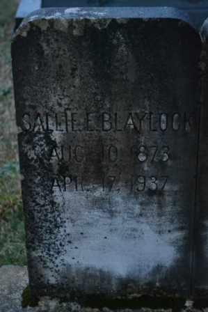 HARR, SALLIE E (CLOSE UP) - Sullivan County, Tennessee | SALLIE E (CLOSE UP) HARR - Tennessee Gravestone Photos