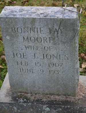JONES, BONNIE FAY - Sullivan County, Tennessee | BONNIE FAY JONES - Tennessee Gravestone Photos