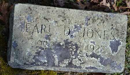 JONES, EARL D - Sullivan County, Tennessee   EARL D JONES - Tennessee Gravestone Photos