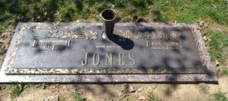 JONES, MACK PRESTON - Sullivan County, Tennessee   MACK PRESTON JONES - Tennessee Gravestone Photos