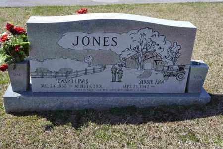 JONES, EDWARD LEWIS - Sullivan County, Tennessee | EDWARD LEWIS JONES - Tennessee Gravestone Photos