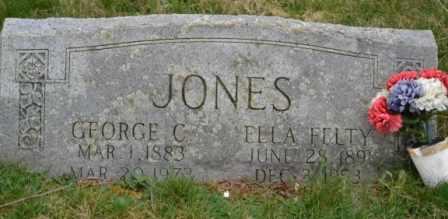 JONES, ELLA - Sullivan County, Tennessee | ELLA JONES - Tennessee Gravestone Photos