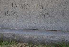 JONES, JAMES M (CLOSE UP) - Sullivan County, Tennessee   JAMES M (CLOSE UP) JONES - Tennessee Gravestone Photos