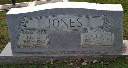 JONES, NOVELLA O - Sullivan County, Tennessee | NOVELLA O JONES - Tennessee Gravestone Photos