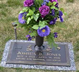 JONES, JOSHUA - Sullivan County, Tennessee | JOSHUA JONES - Tennessee Gravestone Photos