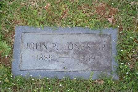 JONES, JOHN P, SR - Sullivan County, Tennessee | JOHN P, SR JONES - Tennessee Gravestone Photos