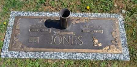 JONES, GRACE R - Sullivan County, Tennessee | GRACE R JONES - Tennessee Gravestone Photos