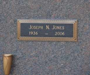 JONES, JOSEPH N - Sullivan County, Tennessee | JOSEPH N JONES - Tennessee Gravestone Photos