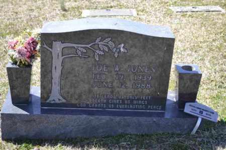 JONES, JOE W - Sullivan County, Tennessee | JOE W JONES - Tennessee Gravestone Photos