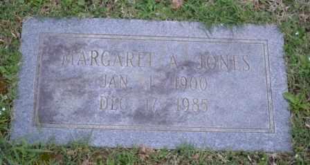 JONES, MARGARET A - Sullivan County, Tennessee | MARGARET A JONES - Tennessee Gravestone Photos